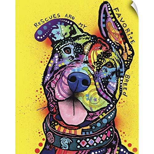 CANVAS ON DEMAND My Favorite Breed Wall Peel Art Print, -