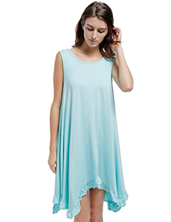 Blooming Jelly Womens Blue Scoop Neck Ruffle Hem Plus Size Tunic