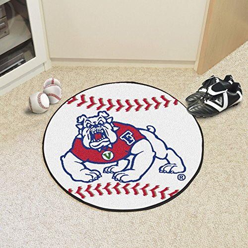 Fresno State Baseball Rug - Fanmats Sports Team Logo Fresno State Baseball Mat