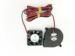 3D Printer Cooling Fan Extruder Blower Fan DC 12V 40x10 50x15 Fans (1M) Eewolf