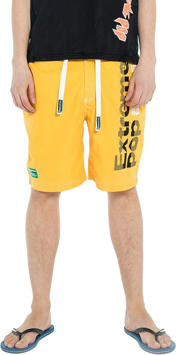 Extreme Pop Pantalones Cortos para Hombre de Camuflaje ...