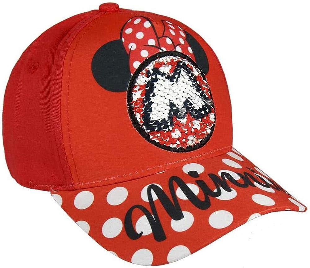 Disney Minnie Mouse Gorra, Rojo, 56 cm para Niños: Amazon.es: Ropa ...