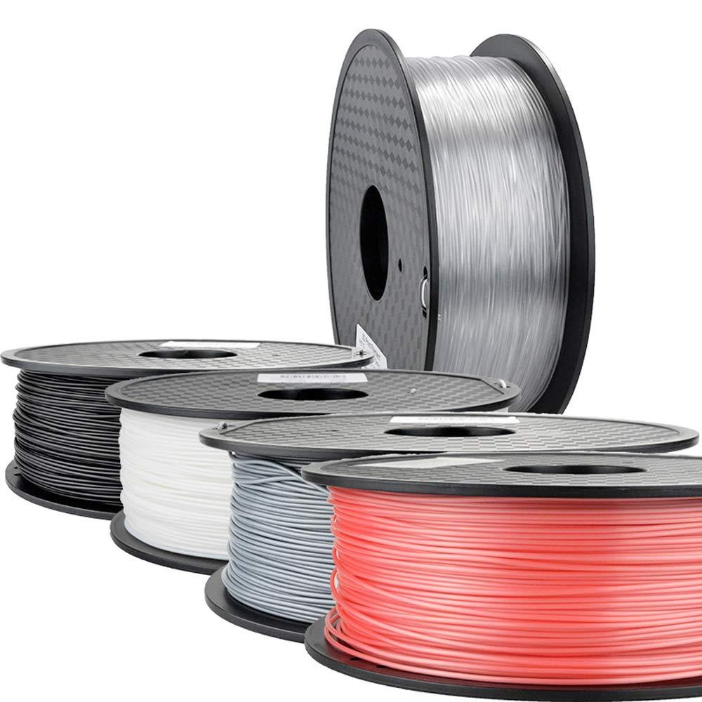 Amazon com: 3D Printer Filament 1 75 PLA PETG Carbon Fiber