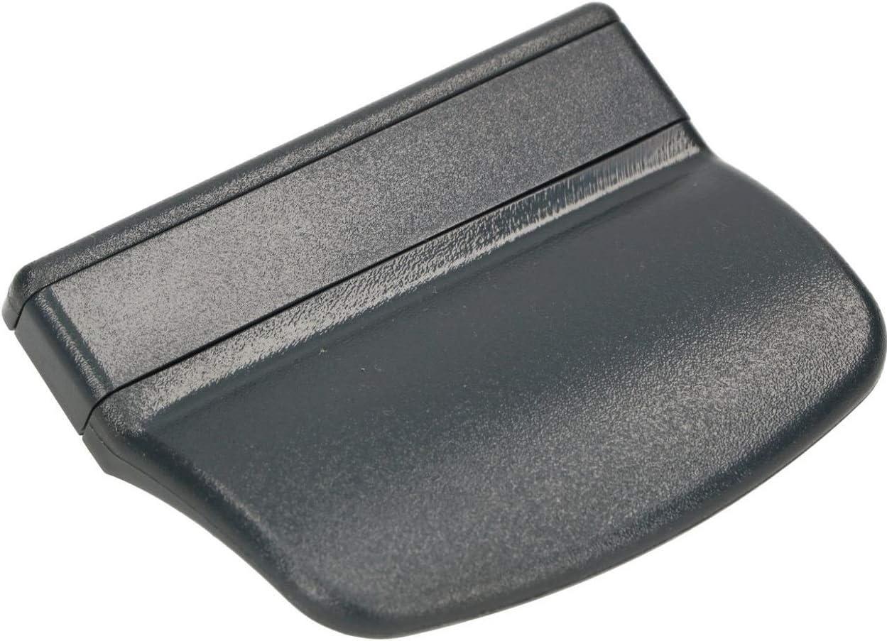 KOTARBAU - Tirador para puerta de balcón, práctico de plástico, seguro para fumadores, terrazas, puertas, cierre, mango, varios colores, universal