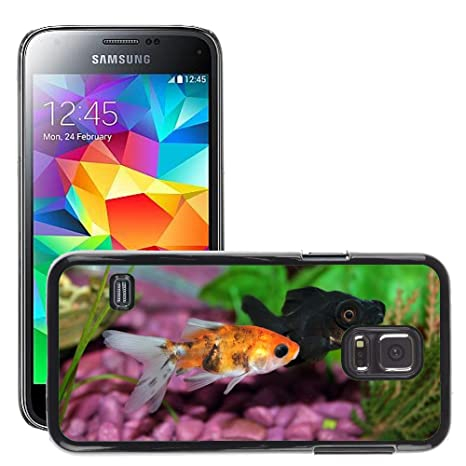 Just Mobile para Hot Estilo teléfono móvil PC Carcasa rígida//M00138129 pecera Peces Acuario