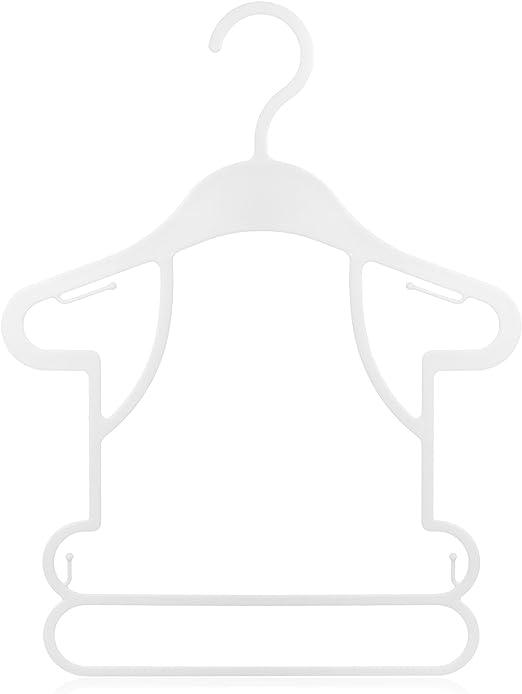 Hangerworld Lot de 15 Cintres de Pr/ésentation Vitrine pour V/êtements B/éb/é