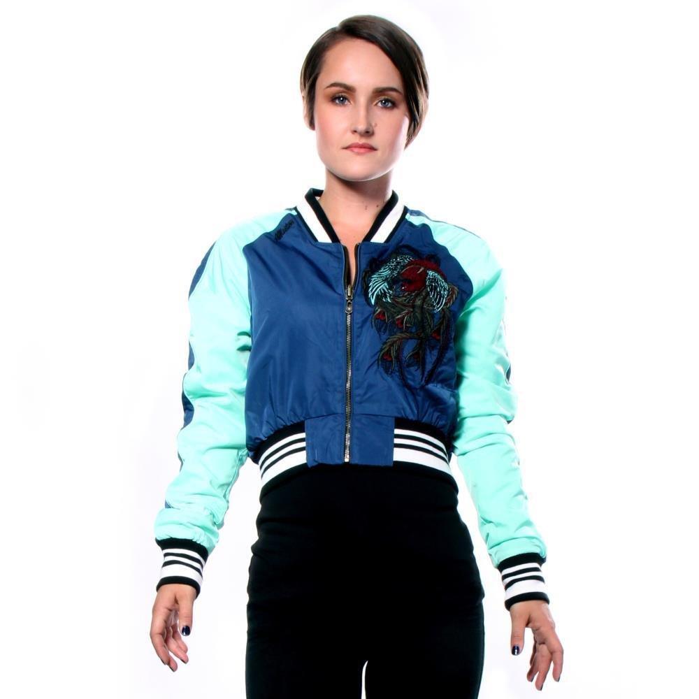 Affliction Dark Twisted Jacket Jackets XL Women by Affliction