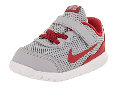 on sale 9af21 75947 Nike Toddlers Flex Experience 4 (TDV) Wlf Grey Gym Red Mtllc Slvr Wht