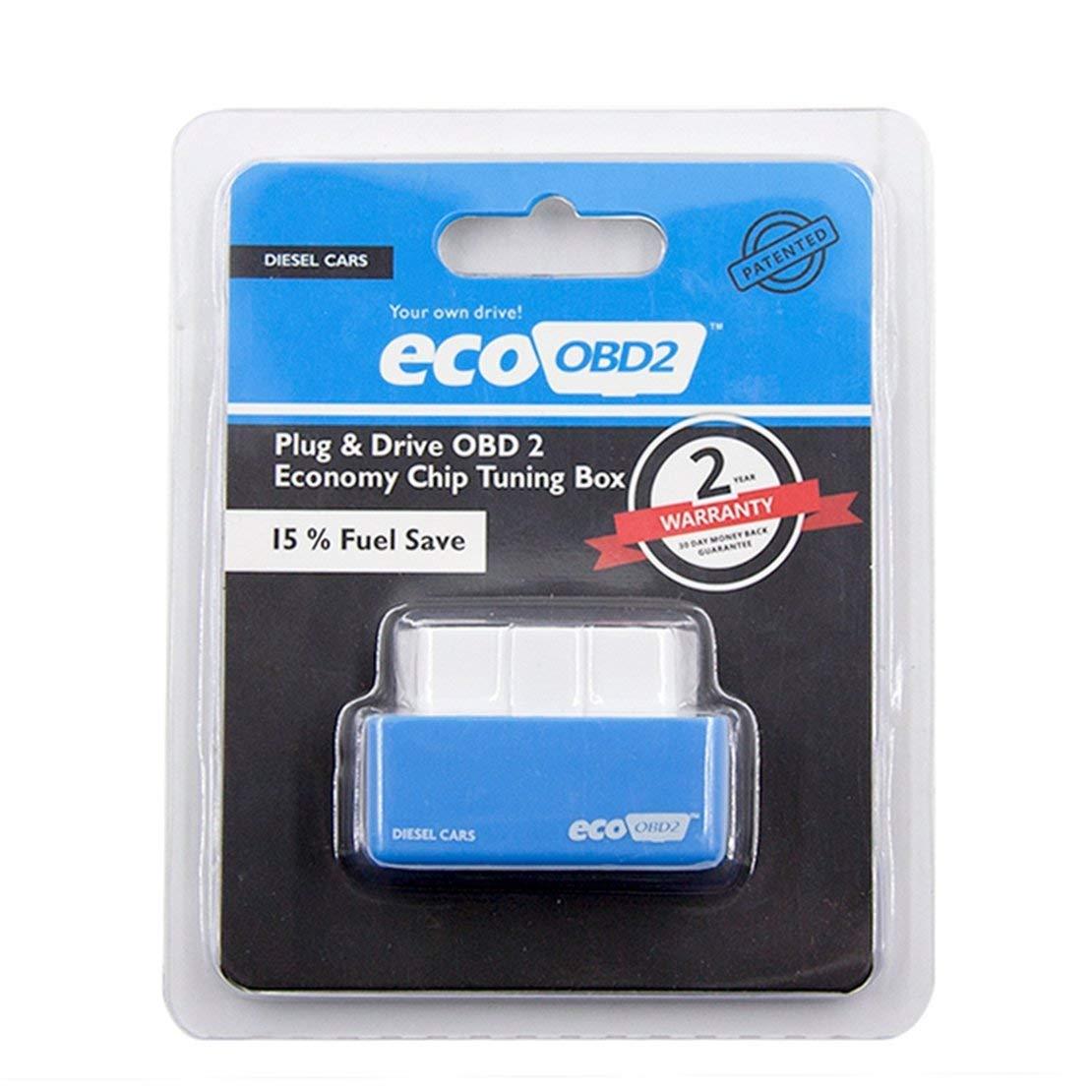 Azul NITRO-OBD2 de una sola capa de placa PCB ahorrador de combustible para autom/óvil