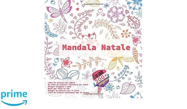 Mandala Natale Libro Da Colorare Per Adulti Un Libro Da Colorare