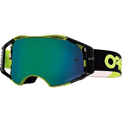Oakley Airbrake Mx >> Oakley Airbrake Mx Factory Pilot Collection Adult Off Road Motorcycle Goggles Eyewear Thumbprint Green Prizm Mx Jade One Size Fits All
