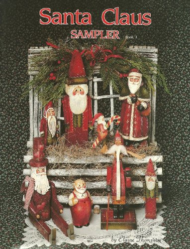 Santa Claus Sampler Book 2 (Tole, Acrylic, Wood Painting)