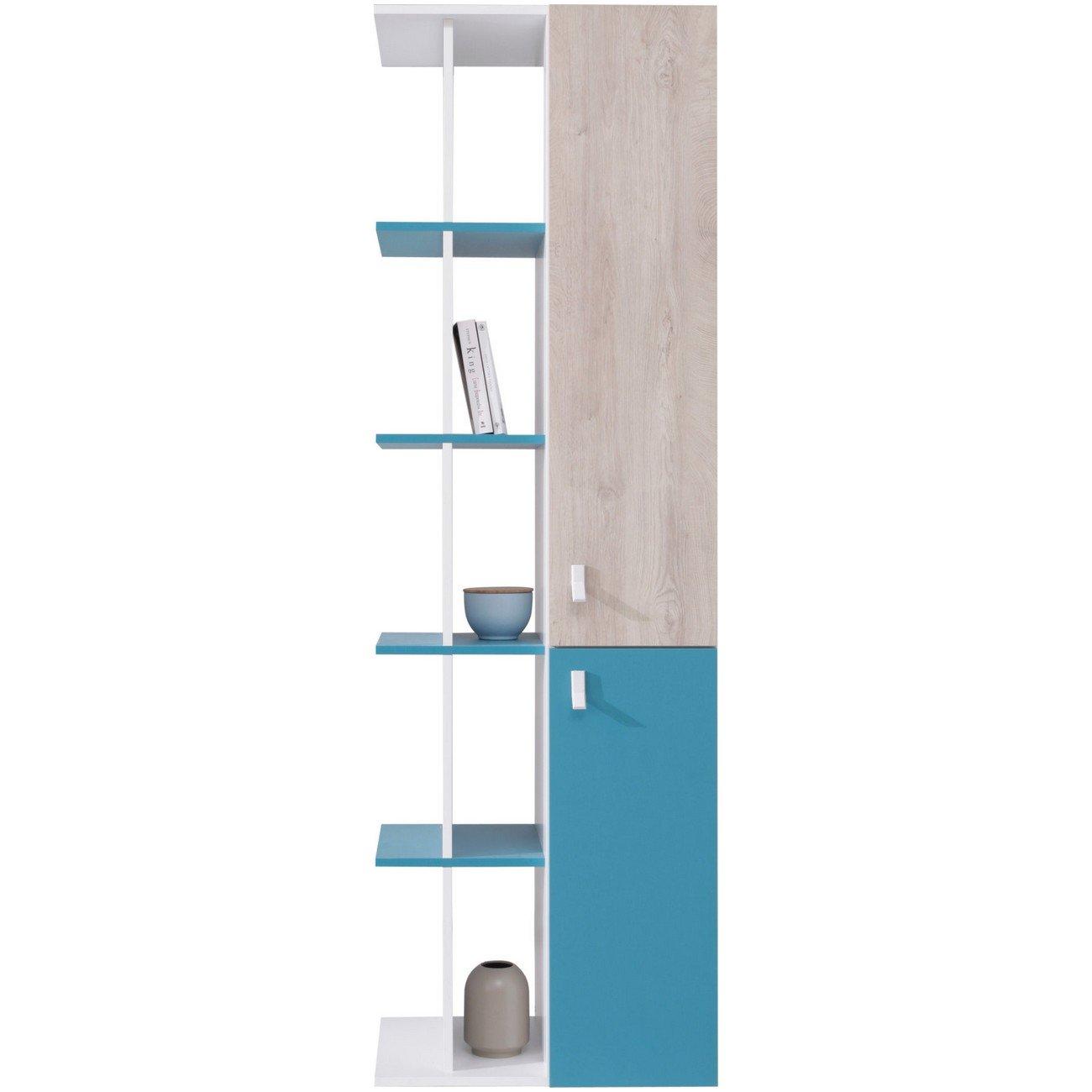 Furniture24_eu Regal mit Türen Bücherregal Planet