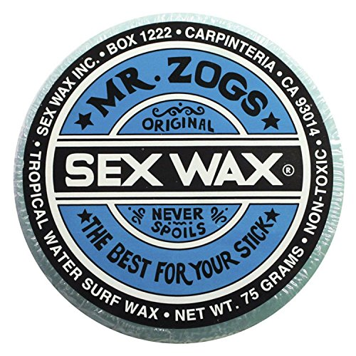 Mr. Zogs Original Sexwax - Tropical Water Temperature
