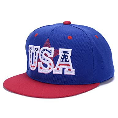 Fashion USA letter hip hop mesh hats gorras planas beisbol flat hats Sport baseball caps Men