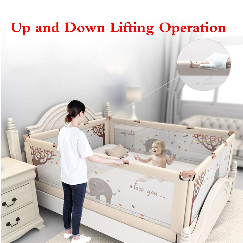 Portable Foldable Bed Rail Bed Guard Protection Safety Infant Child Toddler Safety Bed Rail Baby Kids Protective Guard Gate by SONGTING Guardrail (Image #6)