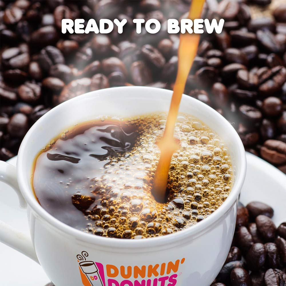 Dunkin' Donuts Original Blend Coffee for K Cup Pods, Medium Roast, For Keurig Brewers, 60Count by Dunkin' Donuts (Image #4)