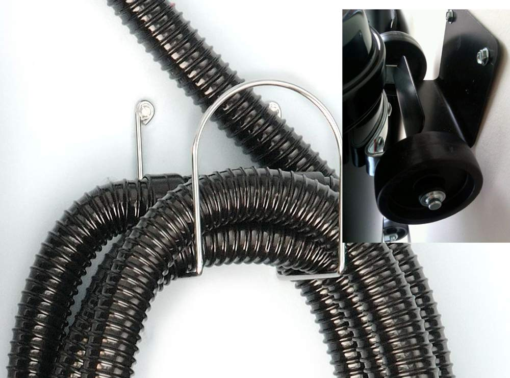 MetroVac Update Your Car Dryer with A 30 Foot Commercial Grade Replacement Hose! Includes Hose Hangar, Wall Bracket, 3 Filters for Dryer - Fits MB-3CD