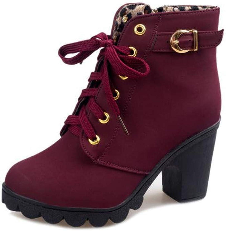 YoYou Plus Size Ankle Boots Women