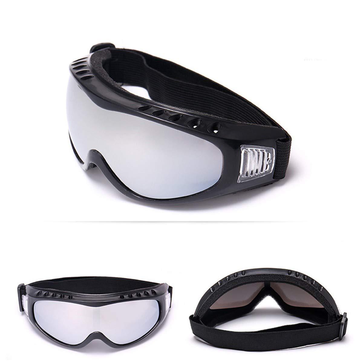 WENDAN EsquiandoMotocicleta Gafas de Sol de esquí a Prueba de Polvo Gafas de Motocross Gafas de Cross Country a Prueba de Viento