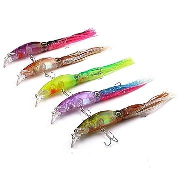 MYyoung - Señuelos de Pesca, diseño de calamares, Cebo de Pulpo ...