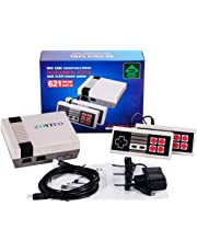 Console de jeux Classic Mini Family Game Consoles Built-in 600 TV Video Game with Dual Controllers Famille Retro Mini Classic Super TV Console (HD, HDMI Socket)