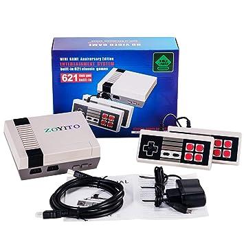 Videospielkonsolen Spiel Konsole Mini 4 K Hdmi Ausgang Tv Handheld 8 Bits Video Spiel Konsole Eingebaute 621 Retro Klassische Spiele Für Tv Pal Ntsc Uns Stecker
