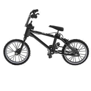SM SunniMix Miniature Alloy Finger Mountain Bike Mini Bicycle Model