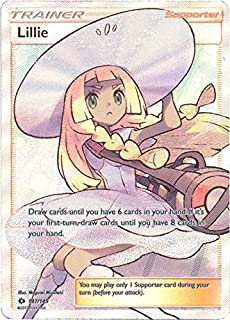 Pokemon Acerola Full Art Trainer 142//147 Fire Burning Shadows Sun Moon Ultra