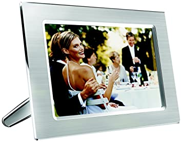 philips 94 inch digital photo frame metal wood