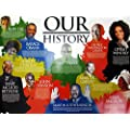 Tri Seven Entertainment Our Black History Poster African American Famous People With Short Biography 24 X 18