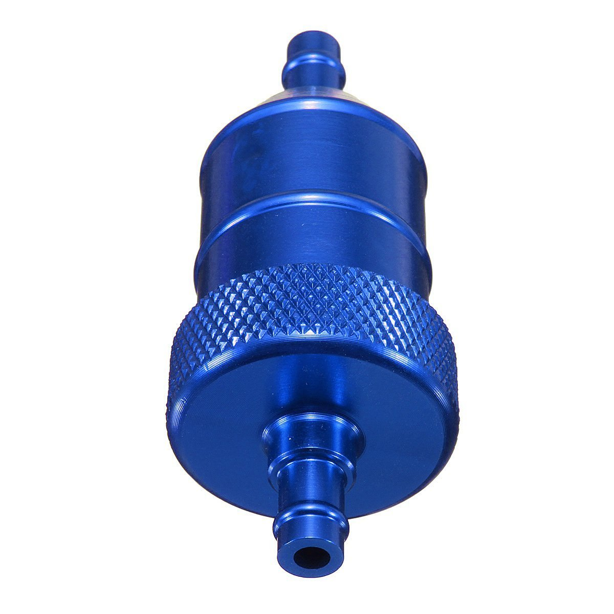 moto Fuel Filter - SODIAL(R) UNIVERSAL 6MM 1/4' MOTORCYCLE MOTORBIKE SCOOTER QUAD PIT BIKE CNC FUEL FILTER -Blue 060891A2