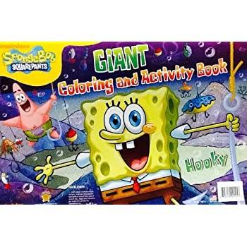 Spongebob Giant Coloring And Activity Book | Coloring Page