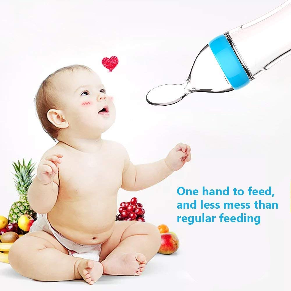 Amazon.com: Alimentador de alimentos para bebés, alimentos ...