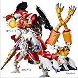 Sen-ti-nel Dynamic Change Shin Getter Robo Distribution Limited Version ''FREEing'' Action Figure