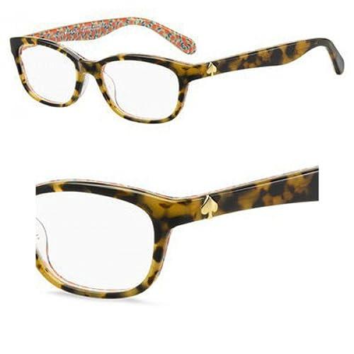 6f626d87d715 Kate Spade BRYLIE Eyeglasses 02NL Havana Pattern Green 50-16-135:  Amazon.co.uk: Shoes & Bags