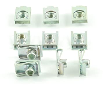 125 Tech-Parts-Koeln Verkleidungsschrauben Clips Aprilia Rs 50 Klemmen K 1200 Pegaso 651