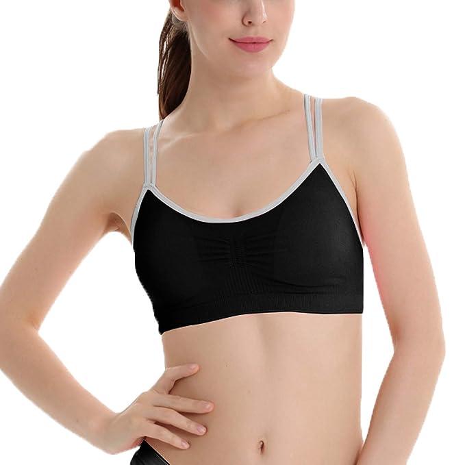 Libella sujetadores deportivos Brasieres para dama confortables sin tiras apto para dormir para deportes costura 3749: Amazon.es: Ropa y accesorios