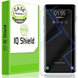 IQ Shield Screen Protector Compatible with Galaxy S10 6.1 (2-Pack)(Case Friendly) Anti-Bubble Clear Film (NOT Compatible with