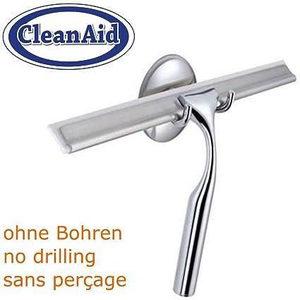 CleanAid® Regleta para Limpiar Paredes Limpiacristales Baño y Ducha ...