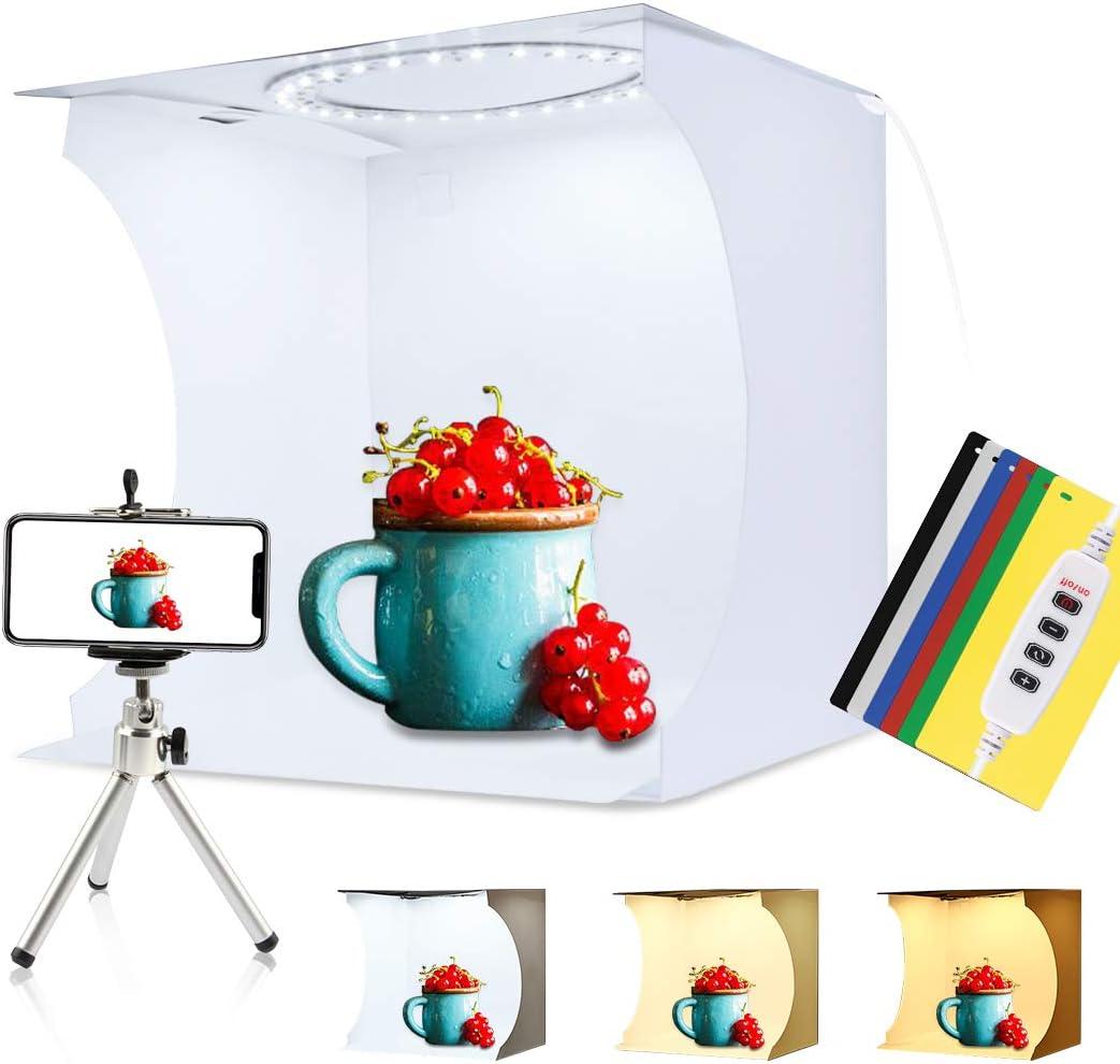 PULUZ 30cm Ring Light Photo Studio Light Box