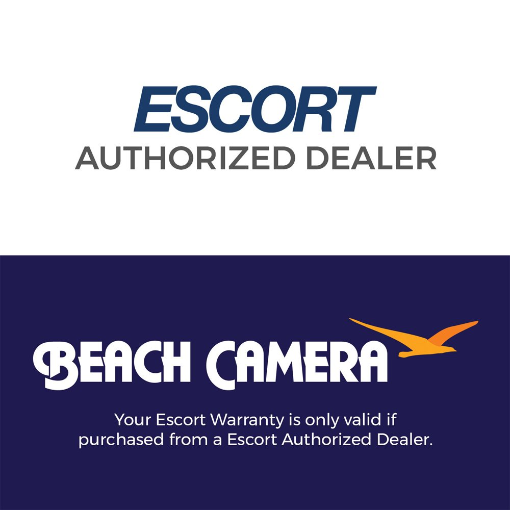 Escort PASSPORT S75g High Performance Radar and Laser Detector Bundle with Car Mirror Mount Bracket For Radar Detectors and Radar Detector Mirror Wire Power Cord by Escort (Image #2)