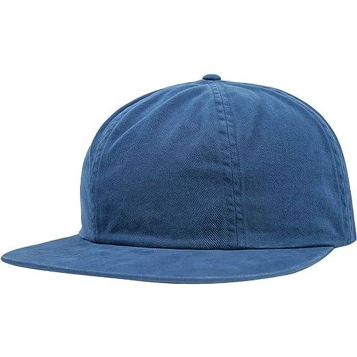 Amazon.com  Brixton Unisex Lakewood Cap Cobalt Hat  Clothing 1fb0e8efeca