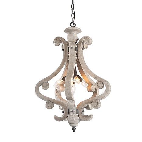 Lnc 4 light cottage wood chandelier rustic pendant lighting lnc 4 light cottage wood chandelier rustic pendant lighting aloadofball Images