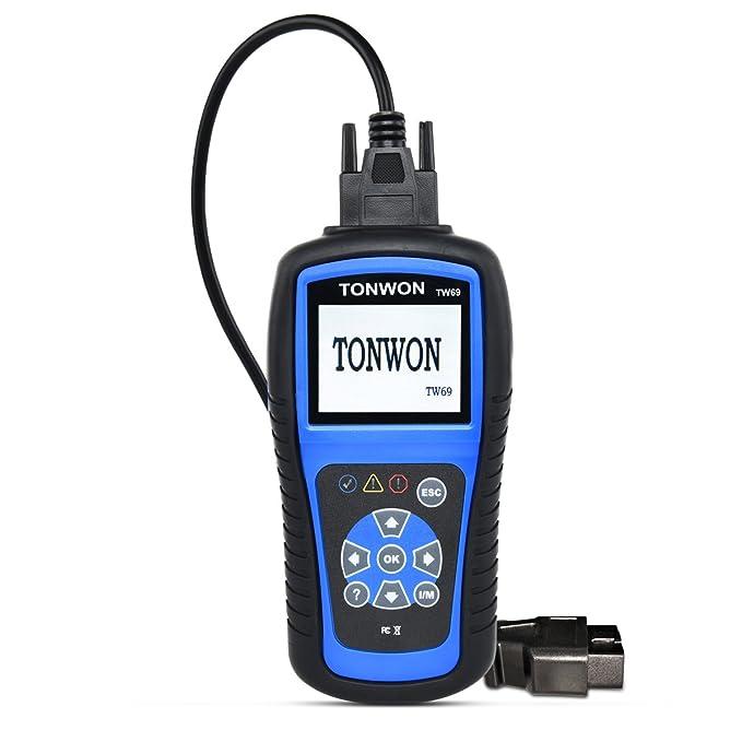 3 opinioni per Tonwon OBD2 scanner auto guasto lettore di codice auto OBDII diagnostico per
