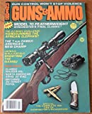 Guns and Ammo Magazine May 1981 (Winchester's Model 70 Featherweight: Winchester's Final Classic?, Japan's WWII Pistols, The 7mm Family)