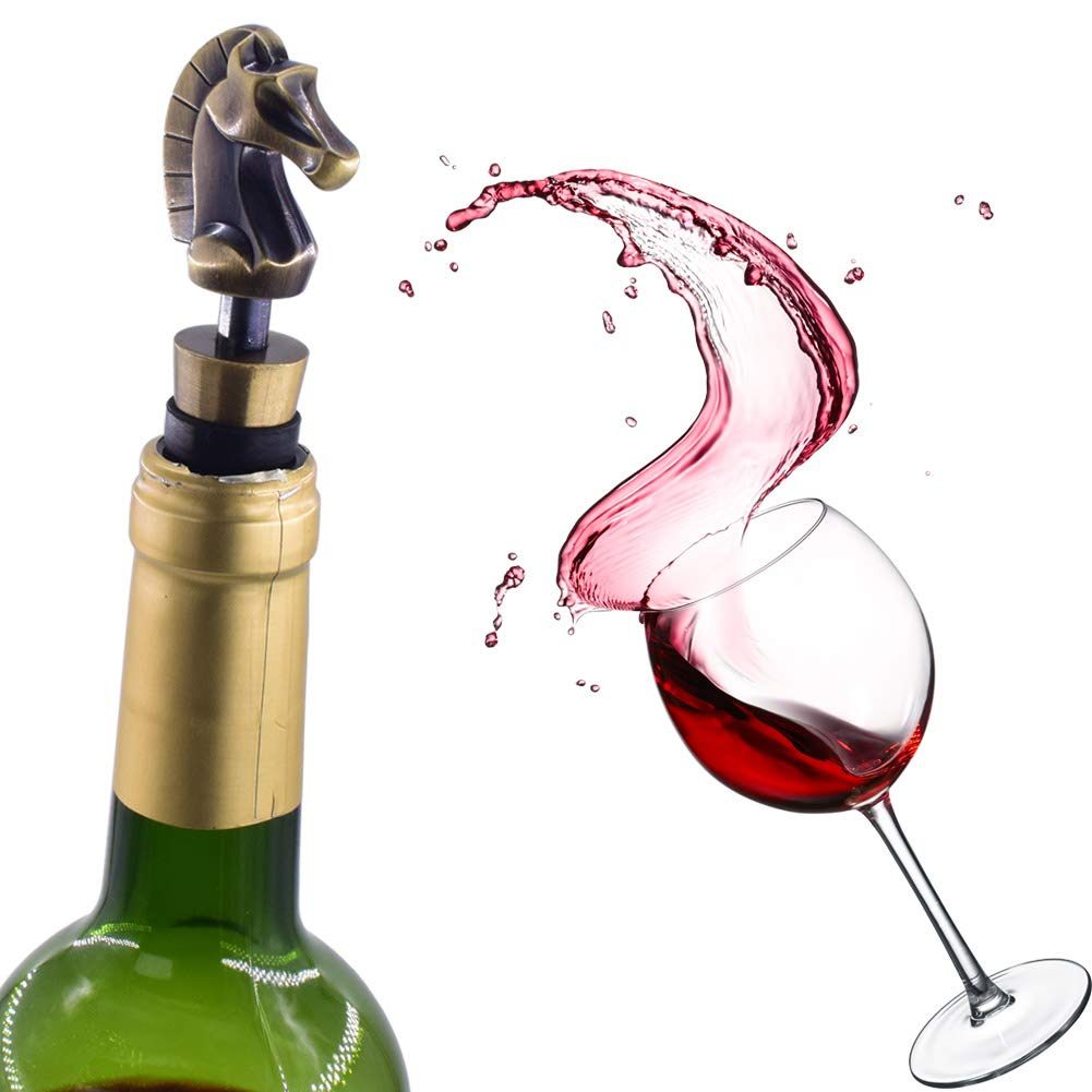 Wine Bottle Stoppers for Gifts Holiday Party Wedding Material Bar