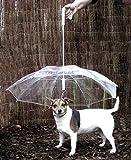 Pet Umbrella (Dog Umbrella) Keeps your Pet Dry and Comfortable in Rain - Novelty Gag Gift