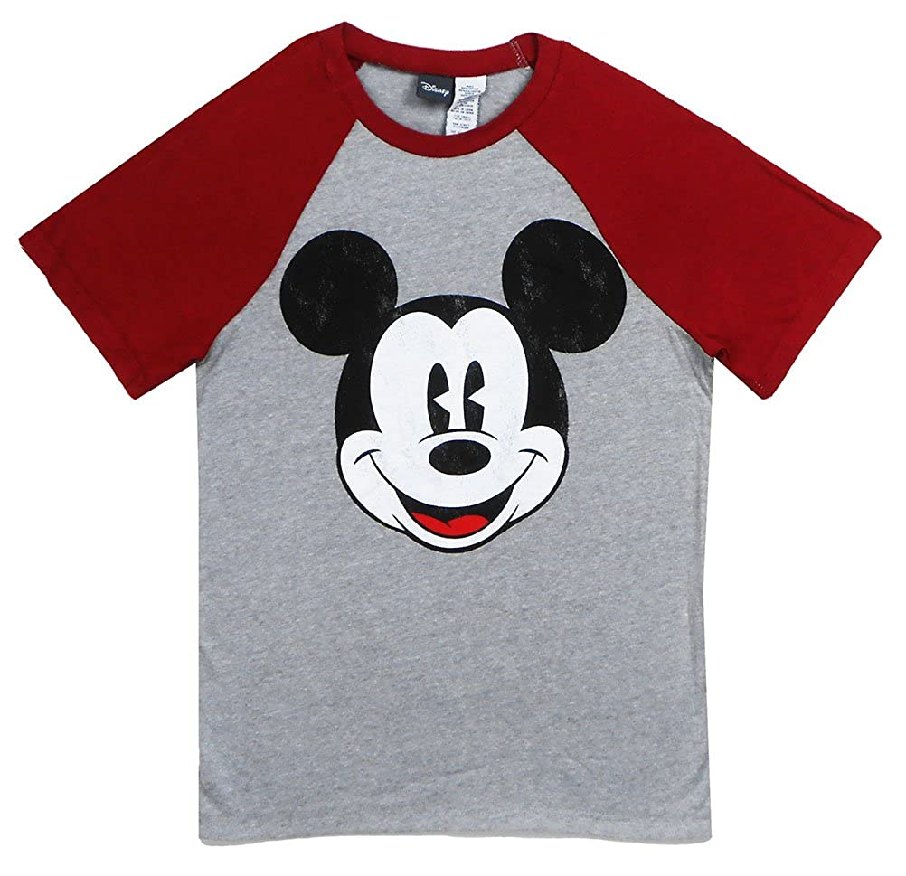Disney Mens All Over Mickey Mouse Pajama Top