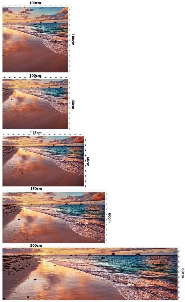 Elegante Cabecero Ligero Resistente y Econ/ómico Disponible en Varias Medidas Cabecero Cama Cart/ón Ec/ólogico Nido de Abeja Playa 100x60cm